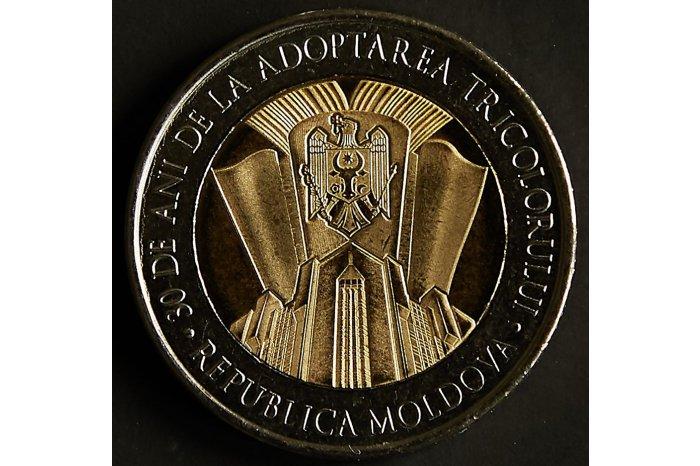 new moldova coin