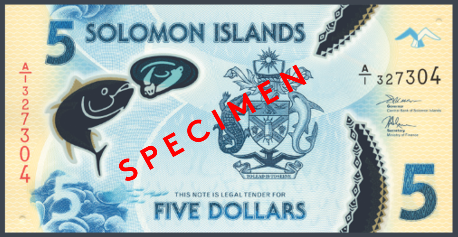 solomon islands banknote
